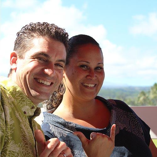 ハワイ島ヒロ発<br>ドーン&マットの<br>幸せなリリコイバター
