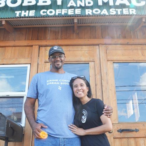 ハワイ島コーヒー農園<br>創業者娘夫婦の<br>意外な経歴