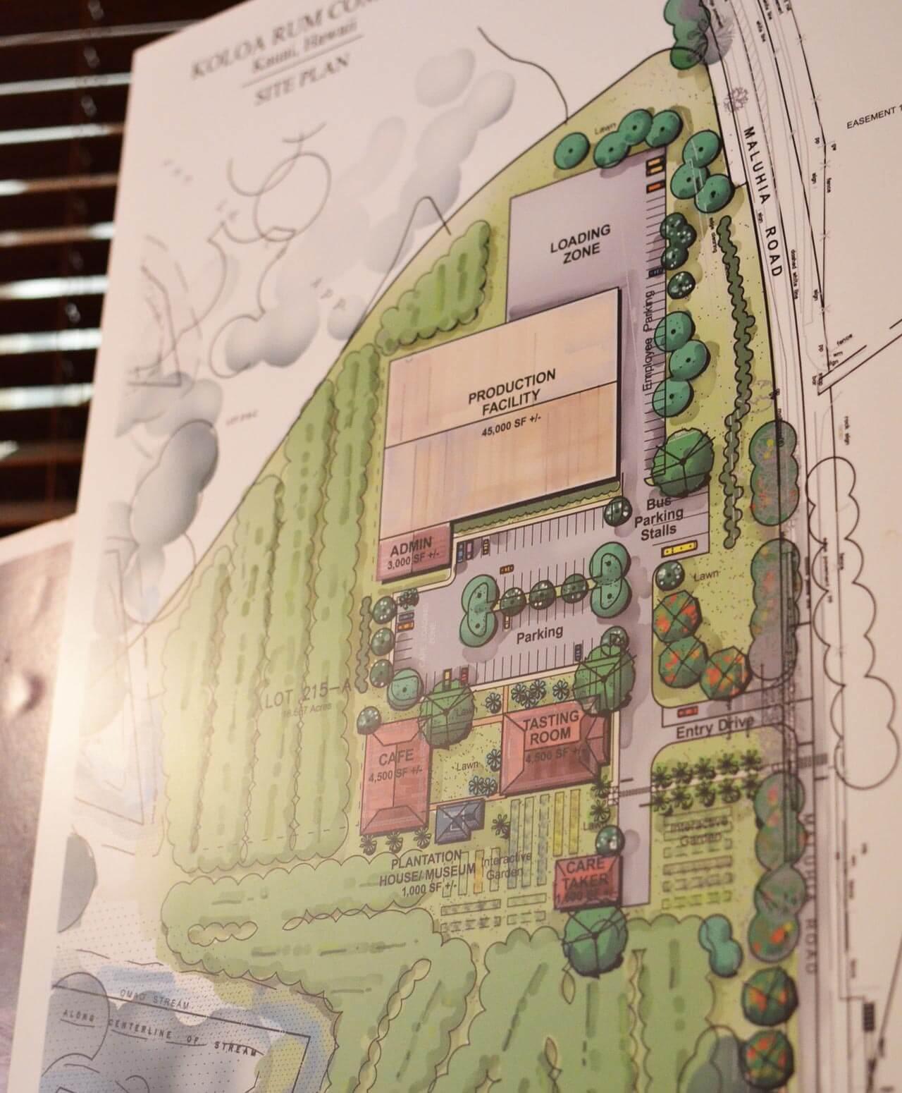 ラム酒で見る夢カウアイ島コロアラムの新・蒸留所計画とは?