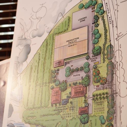 ラム酒で見る夢<br>カウアイ島コロアラムの<br>新・蒸留所計画とは?