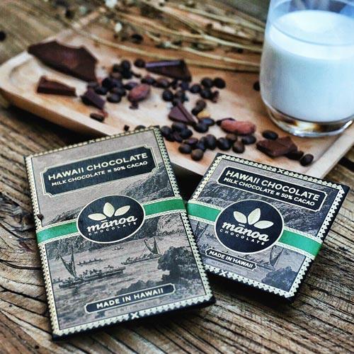 砂糖はダークと同じ量?<br>ハワイ産カカオ使用<br>ミルクチョコの秘密