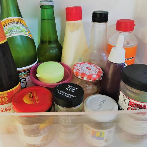 冷蔵庫の中見せて!<br>ハワイの家庭の<br>リアルな調味料事情