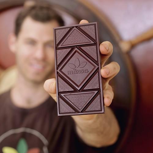 マノアチョコレートの<br>新バーデザイン<br>賢いその仕掛けとは?