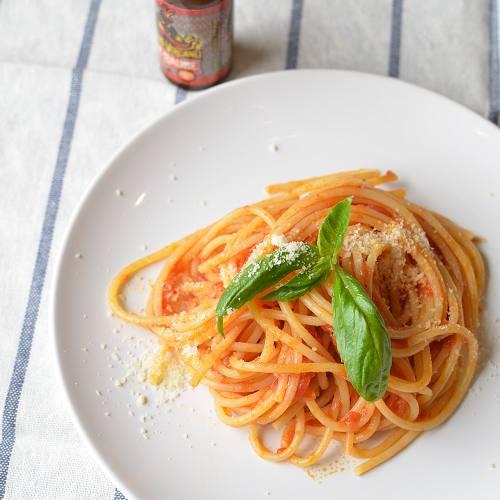 レイジングボルケーノで<br>ピリッとアラビアータ<br>万能トマトソースレシピ